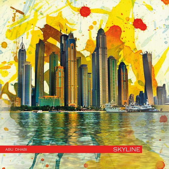 RAY - RAYcities - Abu Dhabi - Skyline