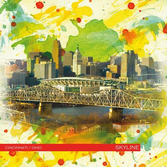 RAY - RAYcities - Cincinnati - Skyline