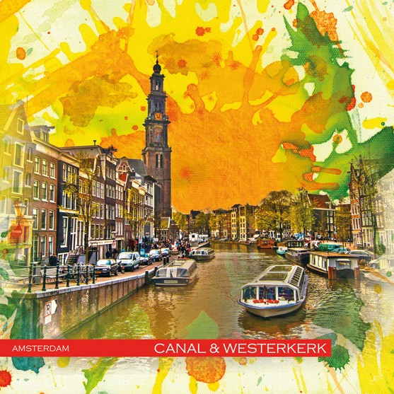 RAY - RAYcities - Amsterdam - Canal and Westerkirk