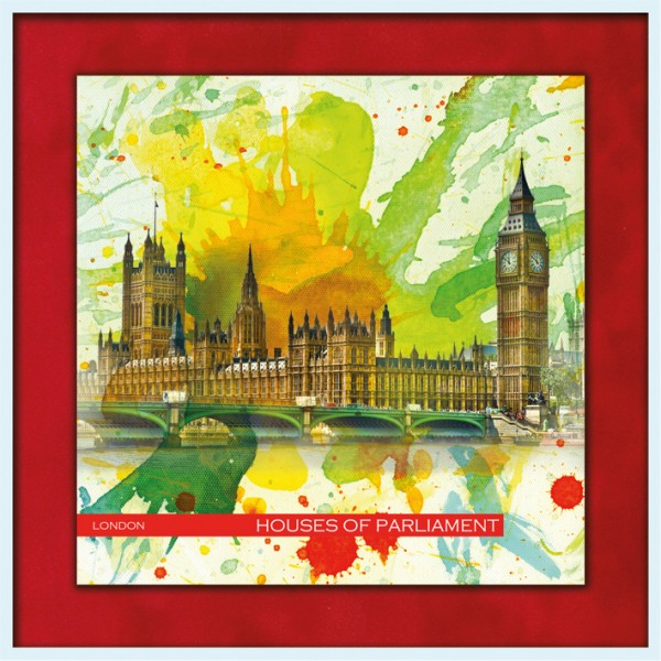 RAY - RAYcities - London - Houses of Parliament and Big Ben