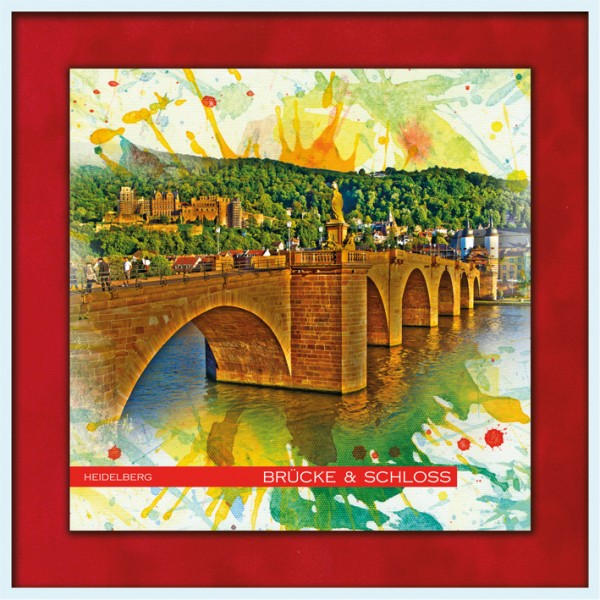 RAY - RAYcities - Heidelberg - Brücke und Schloss