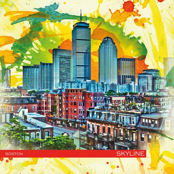 RAY - RAYcities - Boston - Skyline