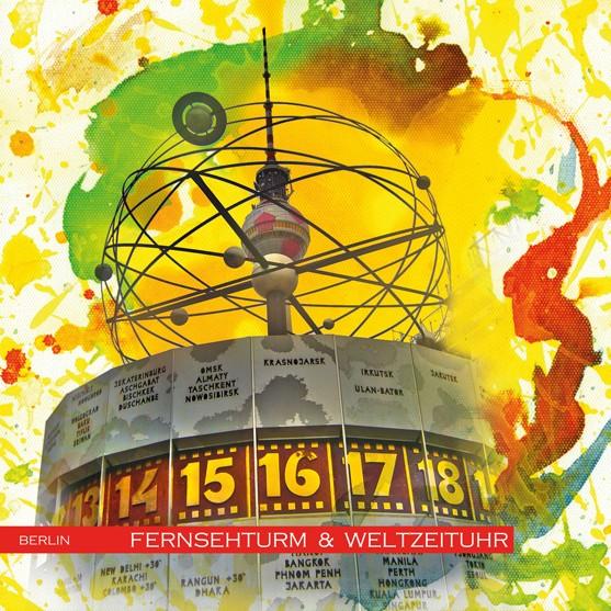 RAY - RAYcities - Berlin - Fernsehturm und Weltzeituhr 1